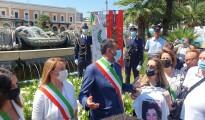 12-07-21 stamattina la cerimonia nel V anniversario della strage ferroviaria sulla tratta Andria-Corato_2